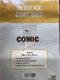 SILVER AGE COMIC BAGS